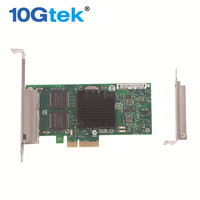 Intel 82580 Chip Gigabit Ethernet Converged Network Adapter (NIC), Quad Kupfer Rj45-ports, PCI Express 2,0x4, gleiche wie I340-T4