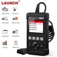 Launch OBD2 Automotive Scanner Multi Language Live Data Read VIN Check Engine OBD 2 ODB2 Car Diagnostic Tool OBD2 Scanner CR5001