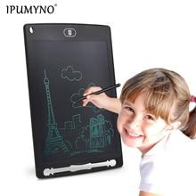 IPUMYNO 8.5 Inch LCD Drawing Tablet Digital Graphics Handwriting Board Portable Electronic Writing Sketch Pad Memo Board Kid