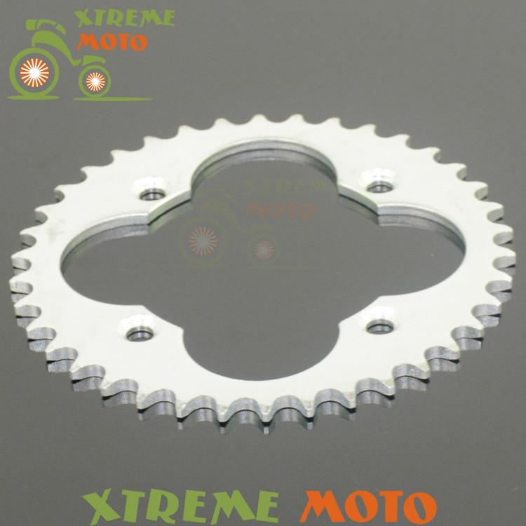 38T Rear Sprockets For Honda TRX250 TRX300 TRX400 TRX450 ATC250 Motocross Enduro Supermoto Motorcycle Street Dirt Bike Off Road
