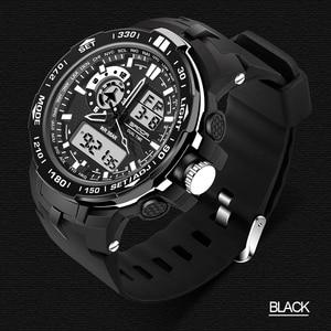 Image 5 - 三田軍事メンズ腕時計防水スポーツ腕時計メンズ多機能 S ショック時計男性 horloges マンレロジオ Masculino 737