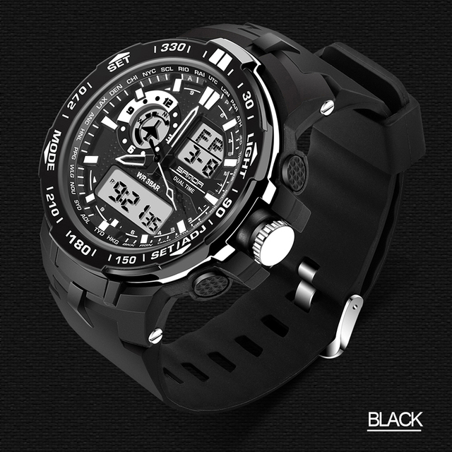 Waterproof Sport Watch Men Multifunctional