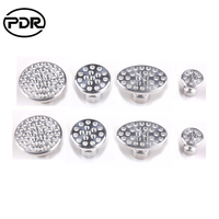 PDR Tools Paintless Dent Repair Aluminum Suction Cups Metal Tabs Auto Repair Tools Dent Removal 8 pcs /set High Quality