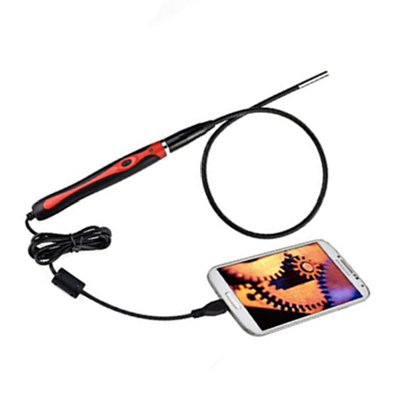 5 5mm Mobile Endoscope For OTG Android Mobile USB Handhled Endoscope in Surveillance Cameras from Security Protection