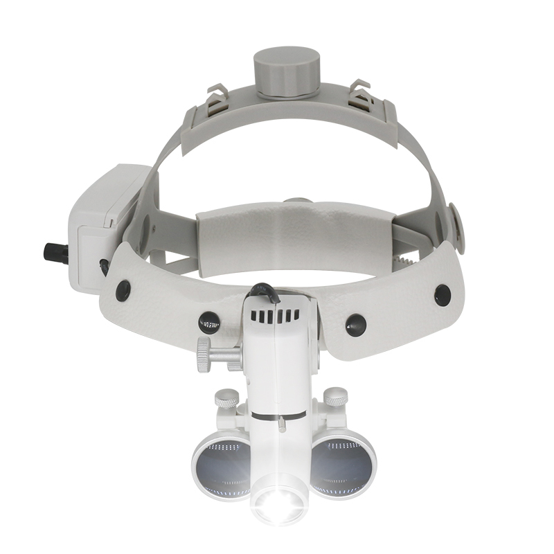 3.5X Surgical Loupes Helmet Magnifier Dental Loupe Surgeon Operation Medical Enlarger Clinical Surgical Magnifier with LED Light