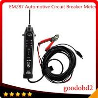 EM287 Automotive Circuit Breaker Meter Test Device Car Diagnostic Tester Measures dc voltage from 2V to 24V