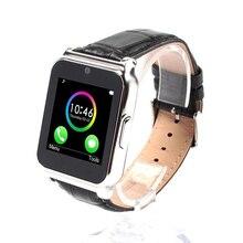 W90 Bluetooth Smart Uhr Männer Luxus Lederband Business Smartwatch Militär Sport-armbanduhr Hd-bildschirm für IOS Android-Handy