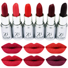 ZD Brand Fashion Makeup 12Colors Sexy Matte Lipstick Long-Lasting Lips Make Up Easy To Wear  Red Lip Gloss Cosmetic L072-24S анна матвеева большой годовой курс для занятий с детьми 3 4 лет