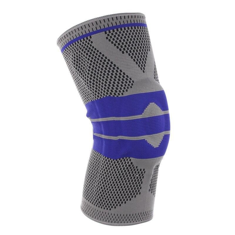 Knieschützer Sport Sicherheit Knieschutz Elastische Nylon Sport Compression Basketball Knie Pad Volleyball Schutzausrüstung