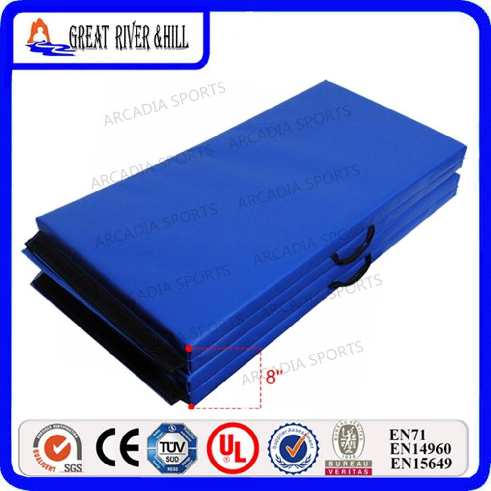 Недорогой складной коврик для упражнений, распродажа, 2,4 м x 1,2 м x 3 см