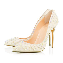 New Classics Spring Autumn Sexy Women Shallow Mouth Thin Heels Pumps Stiletto High Heel Pointed Toe Shoes TL-A0105