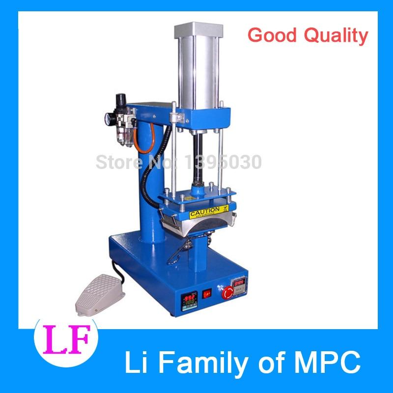 1pc air cap press machine.pneumatic heat press machine 1 pcs 38 38cm small heat press machine hp230a