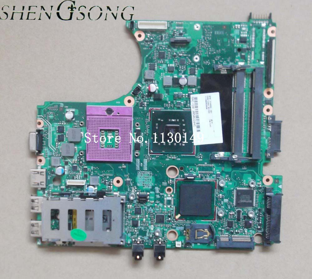 574509-001 Free shipping for HP 4410S 4510S 4710S laptop motherboard GL40 chipset DDR2 mainboard 6050A2252601-MB-A03