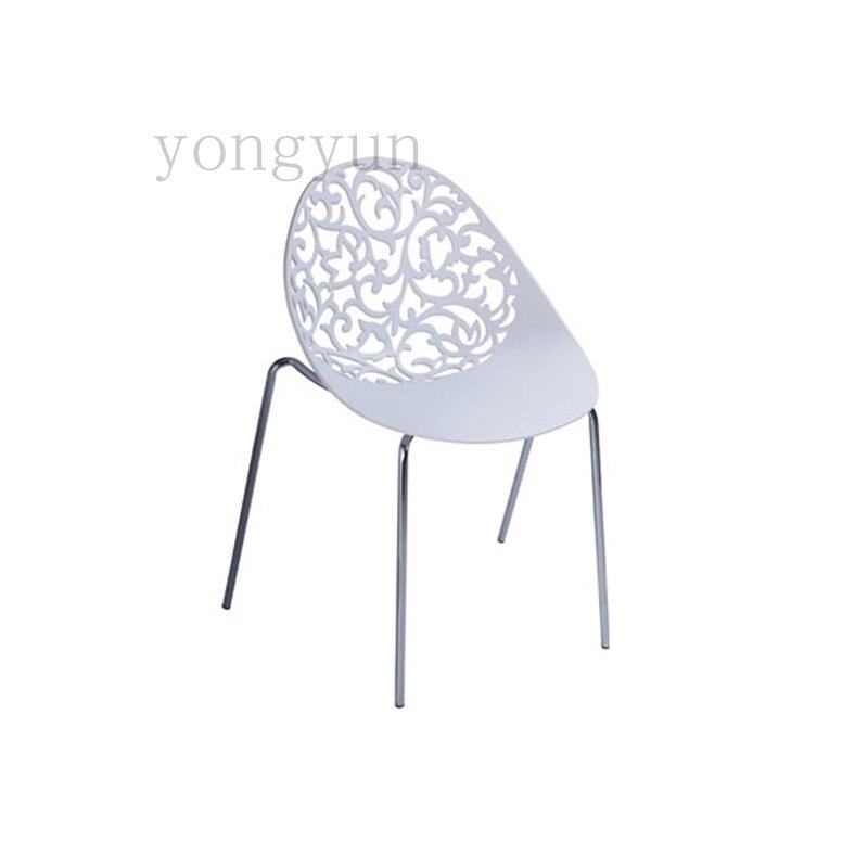 Sedie Acciaio E Plastica.Sedia Pp Plastica E Acciaio Moderno E Minimalista Classico Della