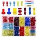 400 stks 22-10 Gauge Nylon Krimpkous Waterdichte Elektrische Geïsoleerde Quick Splice Spade Butt T-Tap Crimp Terminals Connectors