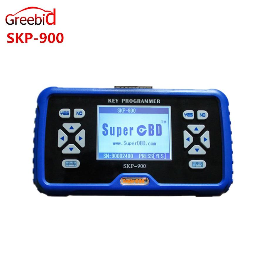 Prix pour 2 PCS/Lot V5.0 SuperOBD SKP-900 OBD2 Programmeur principal SKP900 Programmeur SKP 900 Soutien Presque Toutes Les Voitures dans le Monde