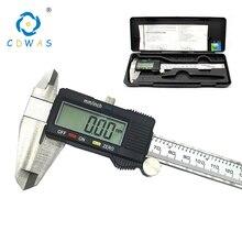 Высокоточный измерительный инструмент из нержавеющей стали цифровой суппорт 0-150 мм измерительный инструмент штангенциркули