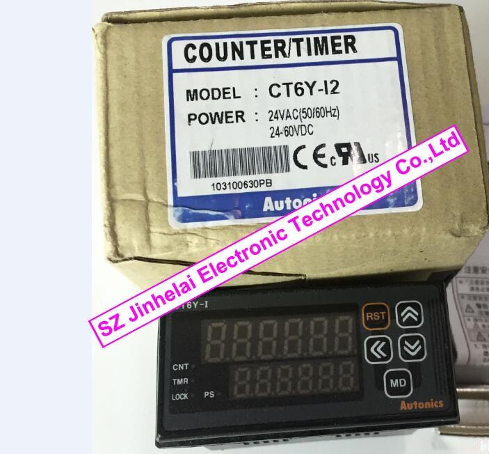 все цены на 100%New and original CT6Y-I2  AUTONICS  COUNTER TIMER   24-60VDC онлайн