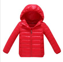 90% Down Kids Boys Girls Quilted Waterproof Duck Down Jacket Outwear Kids Winter Warm Snow Coat Ultra Light Warm Clothes