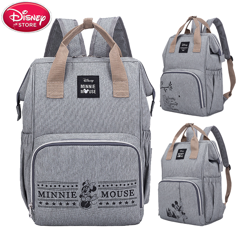 Disney Mummy Bags Maternity Nappy Bag For Baby Care Travel Backpack Large Capacity Baby Bag Stroller Handbag For Mom