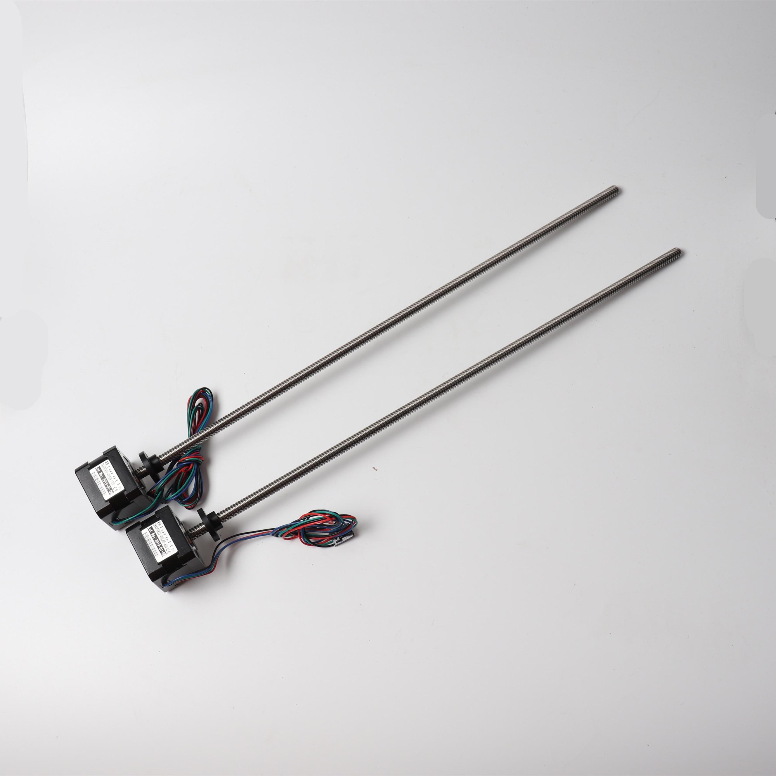 420mm Extended Z Motors Kit for Prusa i3 mk2s/mk3 bear Profile HariboXL/Zaribo prusa i3 mk3 bear taller Lead Screw motor
