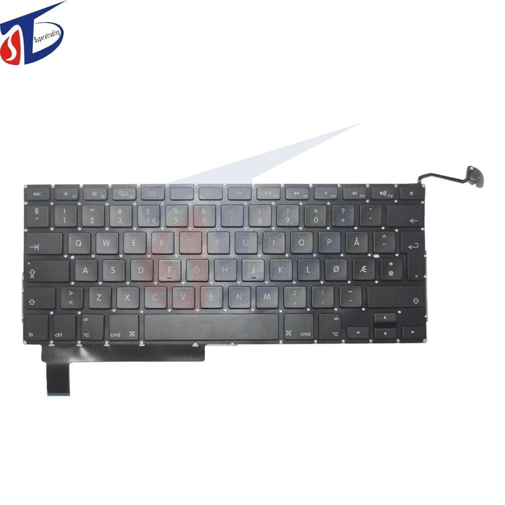 5pcs lot Norway Norwegian keyboard for font b macbook b font pro 15 4 A1286 Norway