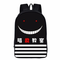 Assassination Classroom Teenagers Backpack Japan Anime Ansatsu Kyoushitsu COS Multifunction School Backpack for Boys Girls