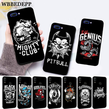WEBBEDEPP Pit Bull Lovely Pet Dog Silicone Case for Huawei honor 6A 7A Pro 7X 8 Lite 8X 8C 9 9X Note 10 View 20