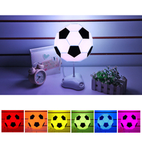 DIY Football Fans Lights Lamps USB Assembly Soccer Lights kids adult Christmas gift Colorful 2019 NEW