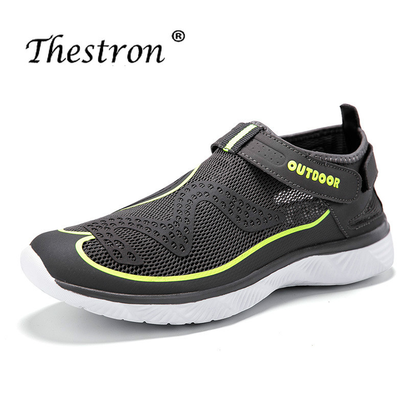 Thestron Best 2019 Man Aqua Shoes Summer Barefoot Water Shoe Ladies Outdoor Beach Womens Quick Dry Mens Wading Sneakers