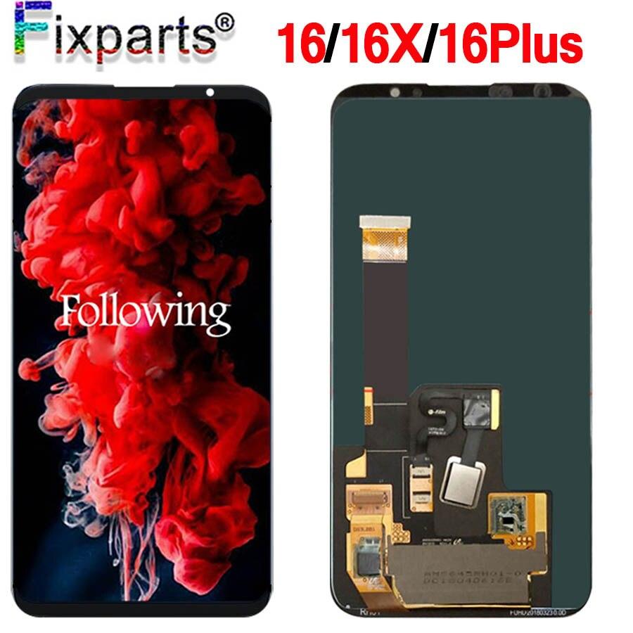 Meizu 16 LCD écran tactile numériseur assemblée 16th M882Q M8821H M872Q M872H pour Meizu 16 Plus LCD 16X remplacement de l'écran