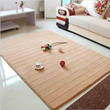 80cmx160cm Solid Carpet For Bedroom Living Room Sofa Area Rugs Soft Non-slip Coral Velvet Rectangle Mat Home Decoration tapetes