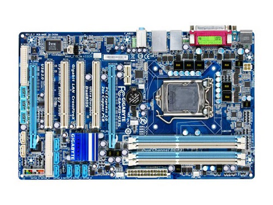 Livraison gratuite origine carte mère Gigabyte GA-P55-US3L LGA 1156 DDR3 P55-US3L conseils USB2.0 16 GB H55 Bureau carte mère