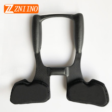 ZNIINO neue kein logo Fahrrad rest Lenker Bike Racing Aero Bar Carbon Faser Fahrrad Aerolenker Road Triathlon Arm Rest Lenker