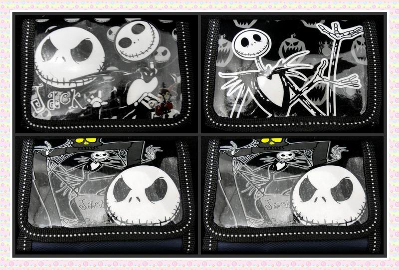 все цены на 12Pcs The Nightmare Before Christmas Coin Kids Cartoon Wallet Bag Pouch Children Purse Small Wallet Party Birthday Gift онлайн
