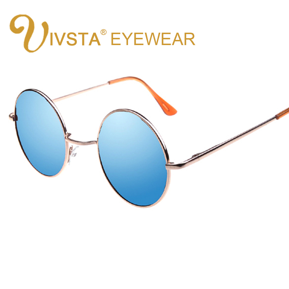 ivsta women round sunglasses men round glasses vintage round sunglasses retro small mens john lennon metal