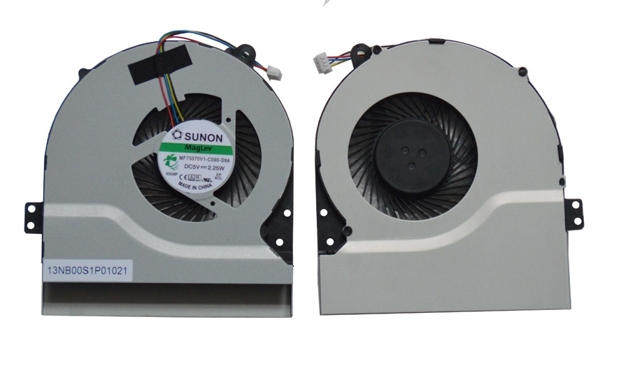 SSEA New CPU Cooling Cooler Fan for ASUS F450C F450L F550C F550L X550L X550LA X550LB X550V A550 X550C K550L MF75070V1-C090-S9A