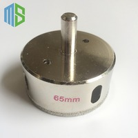 65 Mm Diamond Coated Core Drill Bit Tile Glass Marble Tile Granite Ceramics Hole Saw Metal