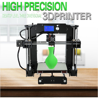 ANET A6 3D Printer Upgraded High Precision 3D Printer Prusa I3 3D Printer Easy Assembly DIY