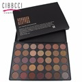 CIBBCCI Make Up For Eyes 35 Color Earth Eyeshadow Palette Professional Matte Shimmer Eye shadow Cosmetics #35T #35W