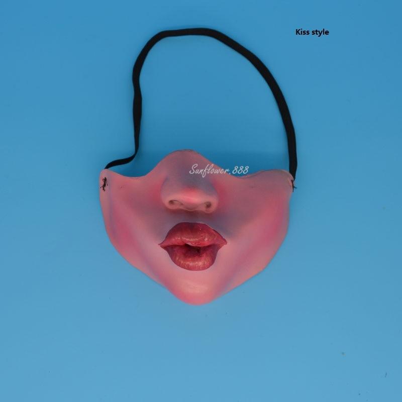 Fun Scary Horrible Mask Party Fool's Day Clown Latex Mask Kvinna Man - Semester och fester - Foto 3