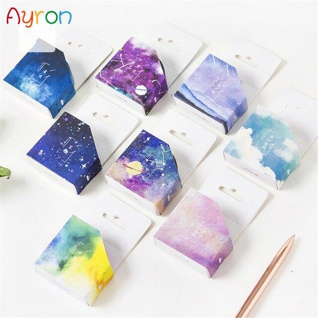 Creativo sueño cielo japonés cinta adhesiva decorativa enmascarar Washi cinta Diy Scrapbooking escuela suministros papelería papelera