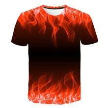 Red Flaming tshirt PU27