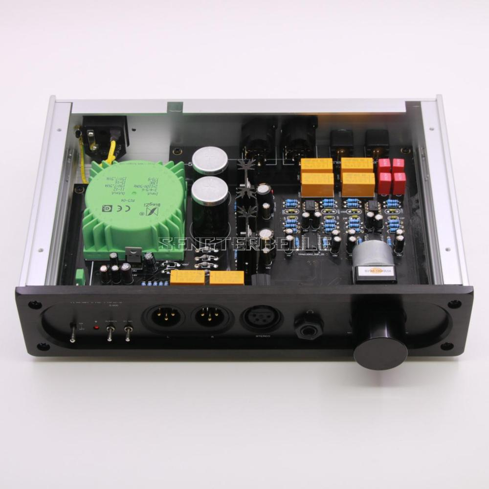 E600 フルバランス入力フルバランス出力 TPA6120 超低ノイズヘッドホンオーディオアンプ NE5532 MUSES8920 MUSES02  グループ上の 家電製品 からの アンプ の中 1