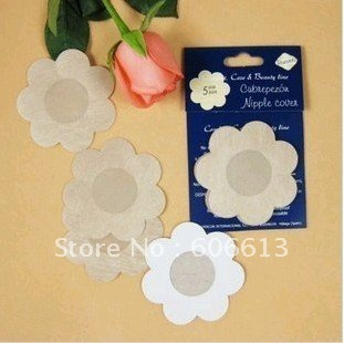 Free Shipping Instant Nipple cover , nonwaven disposable nipple pad, 100pairs/lot 3design mixed
