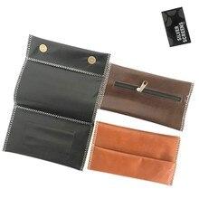 230mm multifonction en cuir tabac sac Cigarette étanche fumer porte-papier portefeuille sac Portable tabac sac de rangement