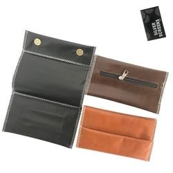 230mm Multifunction Leather Tobacco Bag Cigarette Waterproof Smoking Paper Holder Wallet Bag Portable Tobacco Storage Bag
