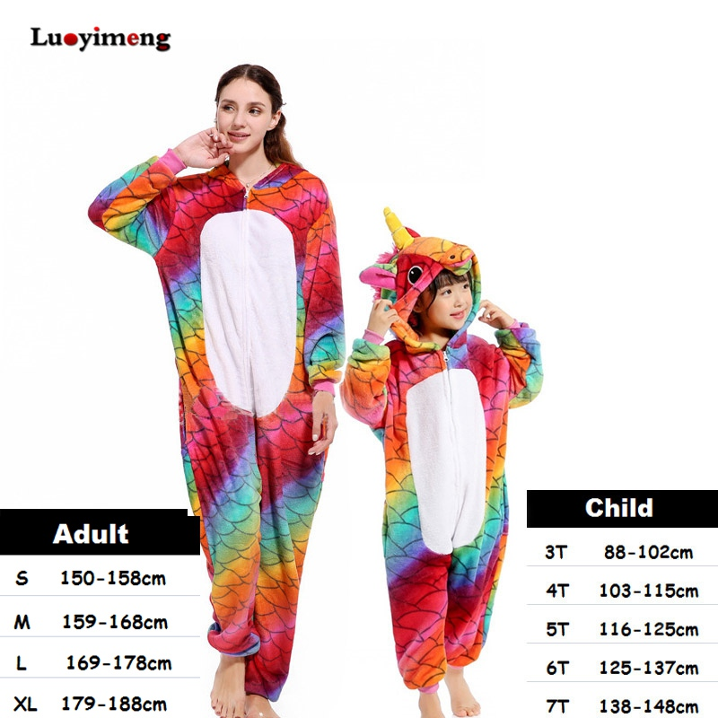 a33c089d3f909 Rose Licorne Enfants Kigurumi Panda Couverture L ensemble Adulte veste à  capuche pour enfant Animal