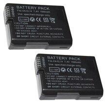 7,4 V 1500 мА/ч, EN-EL14 батареи ENEL14 RU EL14 Камера Батарея пакет для Nikon D5200 D3100 D3200 D5100 P7000 P7100 MH-24