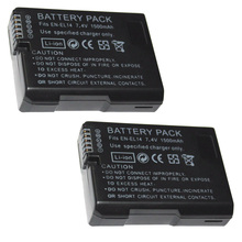 1pcs 7.4V 1500mAh EN-EL14 Batteries ENEL14 EN EL14 Camera Battery Pack For Nikon D5200 D3100 D3200 D5100 P7000 P7100 MH-24 зарядное устройство flama flc mh 24 для аккум батарей nikon en el14 flama flb en el14